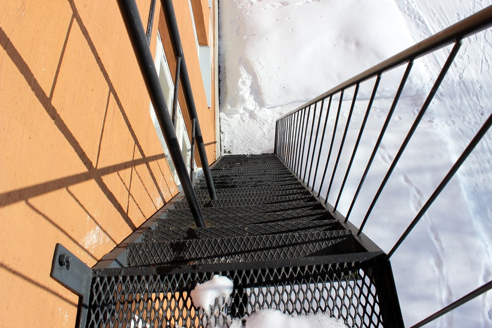 Egress Safety In The Wintertime Nh Commercial Building